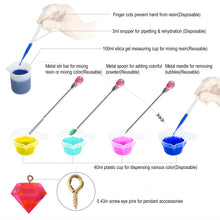 Silicone Resin Mold for Jewelry Casting,DIY Crystal Pendant Epoxy Resin Making Kit for Resin Casting Beginner (174pcs)