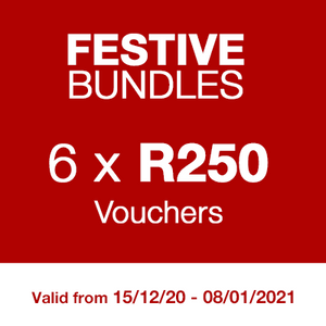 FESTIVE BUNDLE - 6 Vouchers