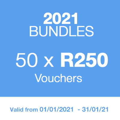 2021 BUNDLE - 50 Vouchers