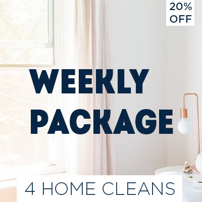 Weekly Cleaning Package - 20% OFF