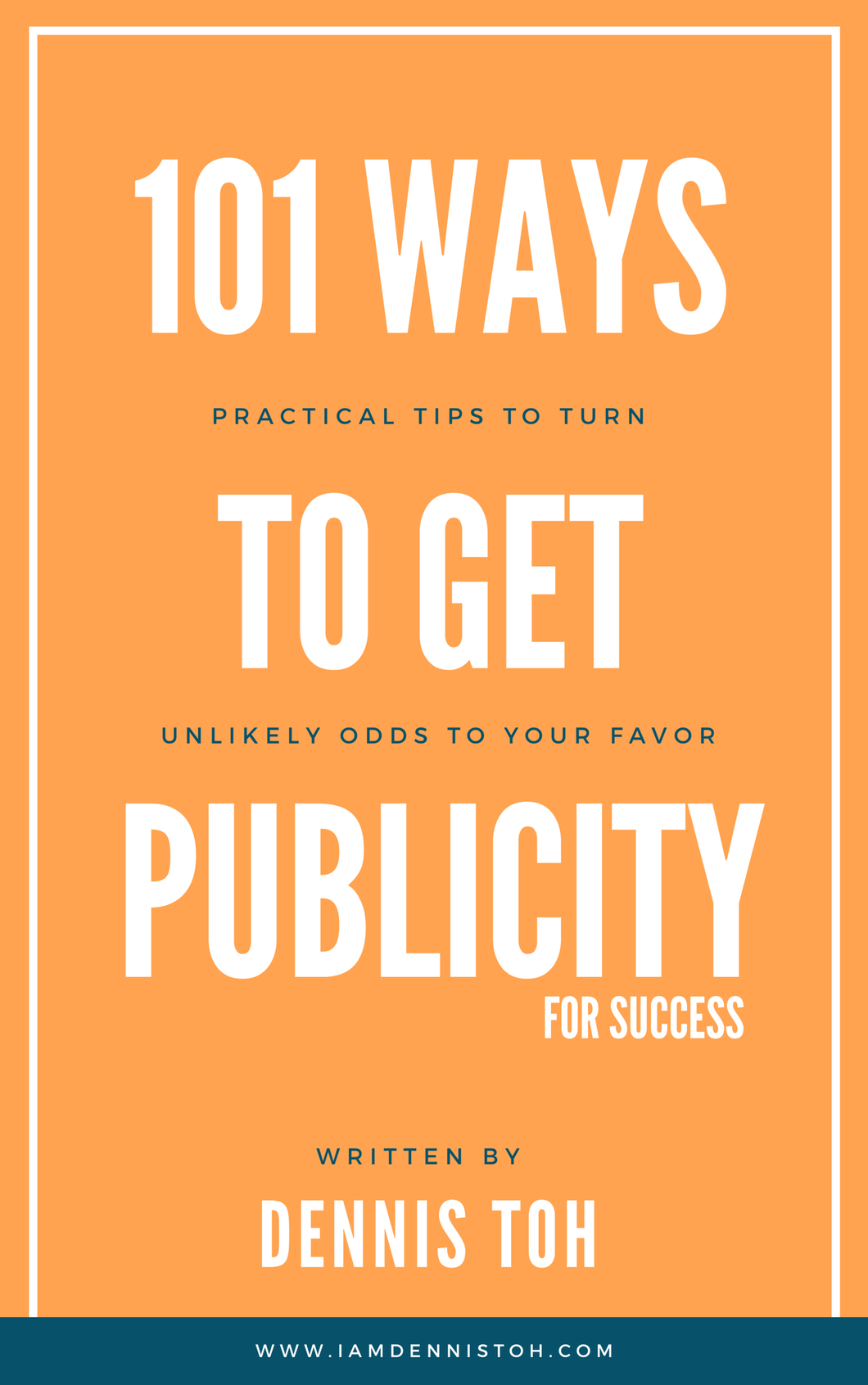 [BOOK] 101 Ways to get Publicity for Success