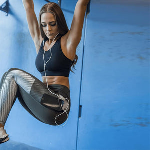 Sleek Fitness Leggings With Pockets