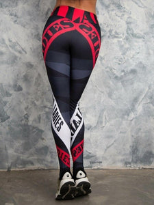 Sexy Women's Print Fitness Yoga Leggings