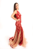 "Abendkleid ""Redmermaid"""