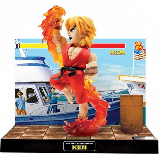 Street Fighter - New Challenger Ken Figure