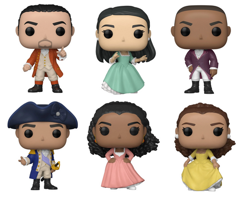 PRE-ORDER: Hamilton - Set Of Hamilton Pop! Vinyl Figures