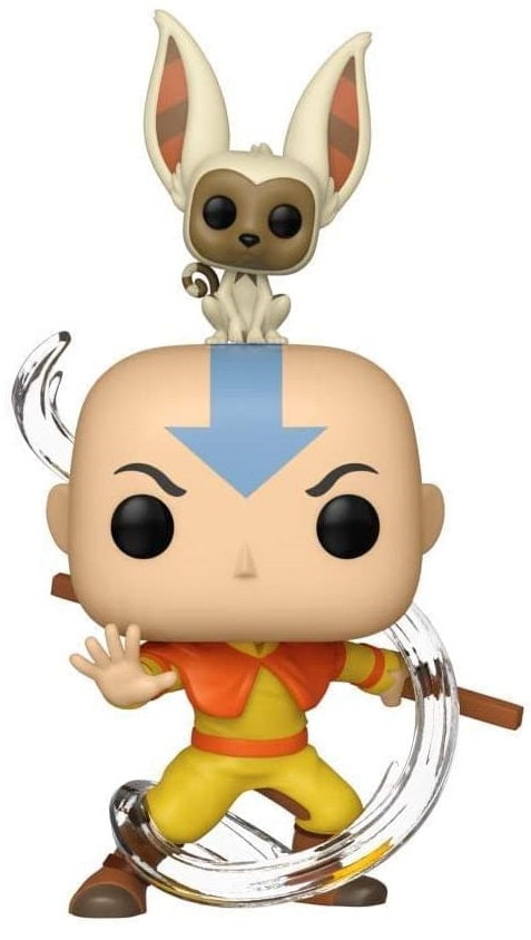 The Last Airbender - Aang With Momo Pop! Vinyl