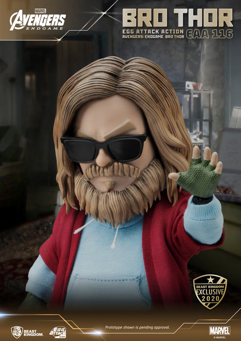 PRE-ORDER: Avengers Endgame - Bro Thor Beast Kingdom Egg Attack Action Figure (Summer Exclusive 2020)