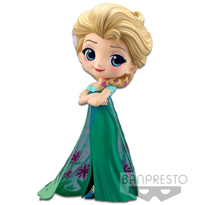 Q Posket - Elsa Frozen Fever Design (A Normal Color Ver)