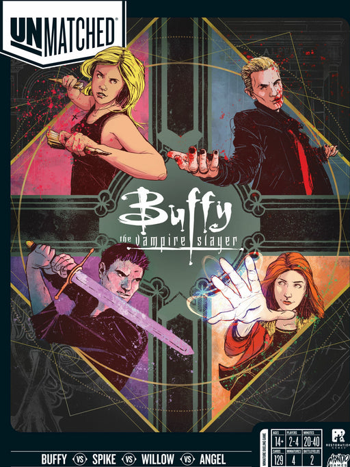 PRE-ORDER: Unmatched: Buffy The Vampire Slayer