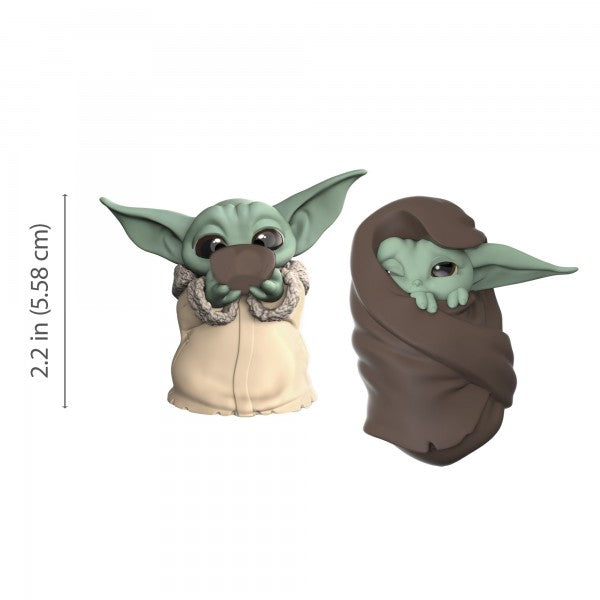 Star Wars Bounty Collection: The Child From The Mandalorian - Sipping Soup & Blanket Wrapped - 2 Pack