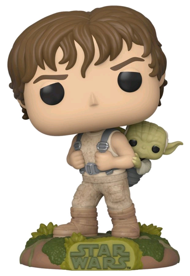 PRE-ORDER: Star Wars - Luke training with Yoda Pop! Vinyl