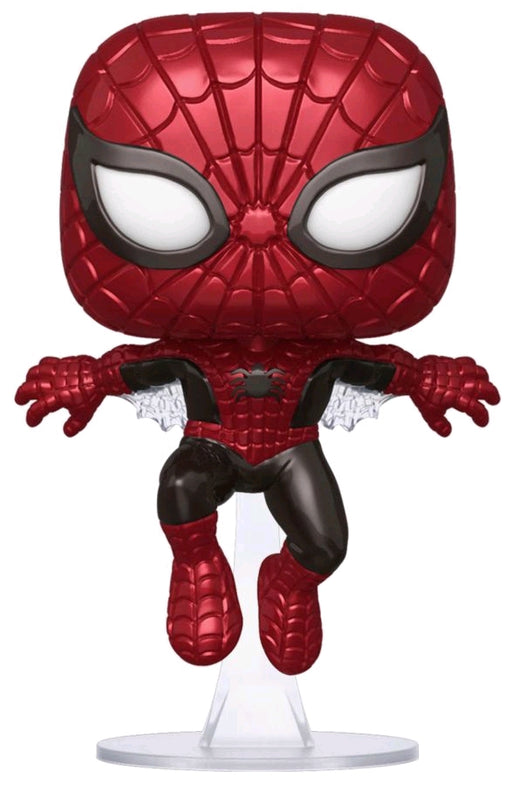 Spider-Man - Spider-Man First Appearance Metallic 80th Anniversary Pop! Vinyl