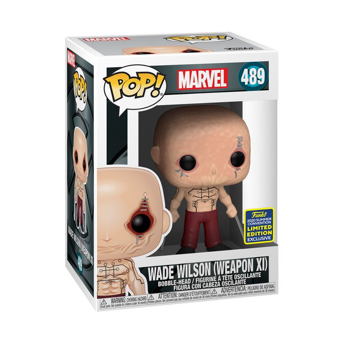 X-Men Origins - Wade Wilson (Deadpool) Weapon XI San Diego Comic Con 2020 Exclusive Pop! Vinyl