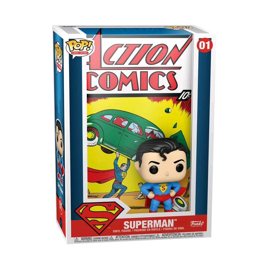 PRE-ORDER: Superman - Action Comics Pop! Comic Cover