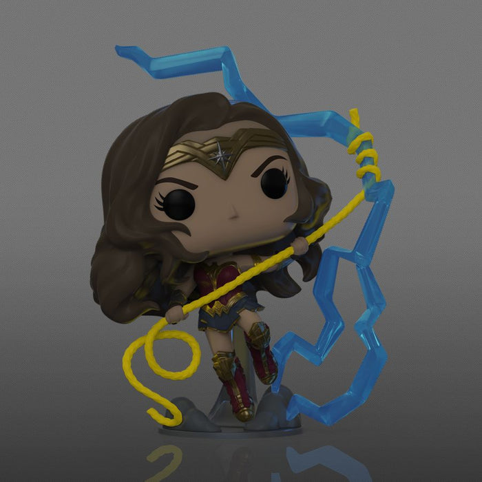 Wonder Woman - Wonder Woman 1984 Ligntning Glow NYCC 2020 US Exclusive Pop! Vinyl