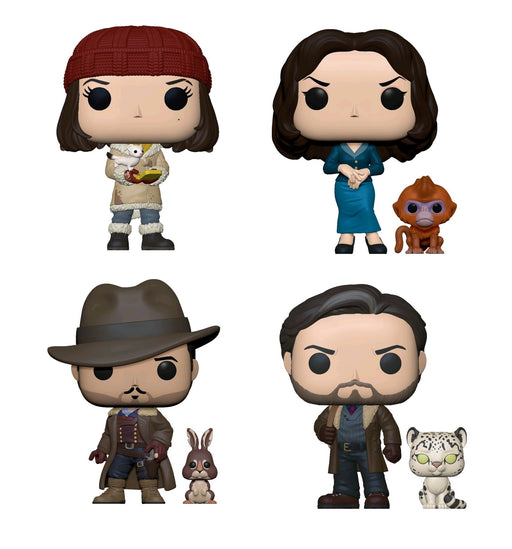 PRE-ORDER: His Dark Materials - Set Of Four Pop! Vinyl Figures