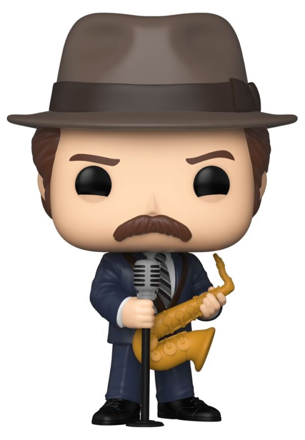 Pre-Order: Parks and Recreation - Duke Silver Pop! Vinyl