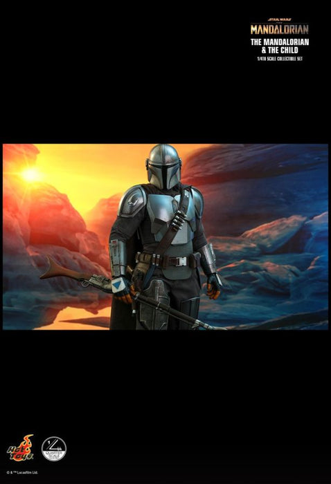 "PRE-ORDER: Star Wars The Mandalorian - Mandalorian & The Child 14"" Scale Action Figure Set"