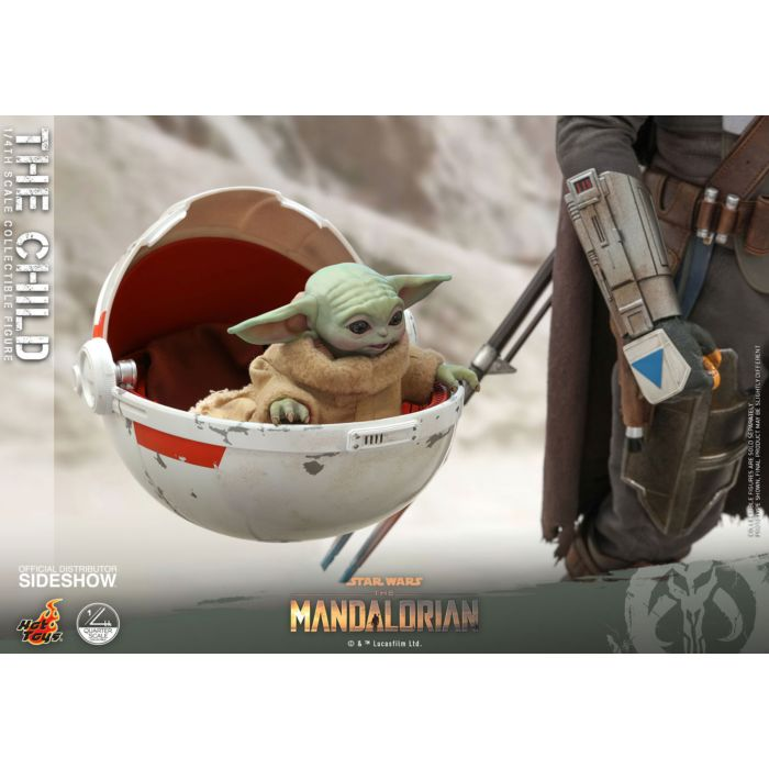 PRE-ORDER: Star Wars: The Mandalorian - The Child 1:4 Scale Action Figure