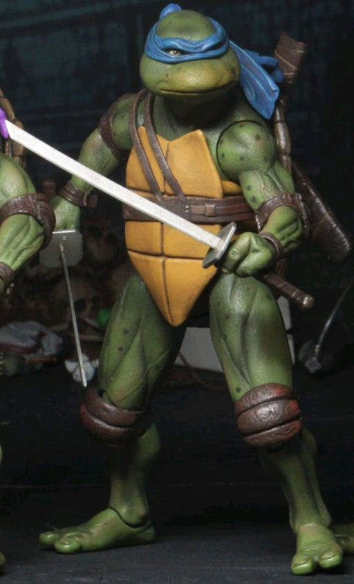 "Teenage Mutant Ninja Turtles (1990) - Leonardo 7"" Action Figure"