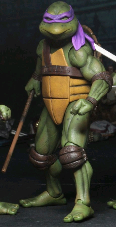 "* RETURNING * Teenage Mutant Ninja Turtles (1990) - Donatello 7"" Action Figure"