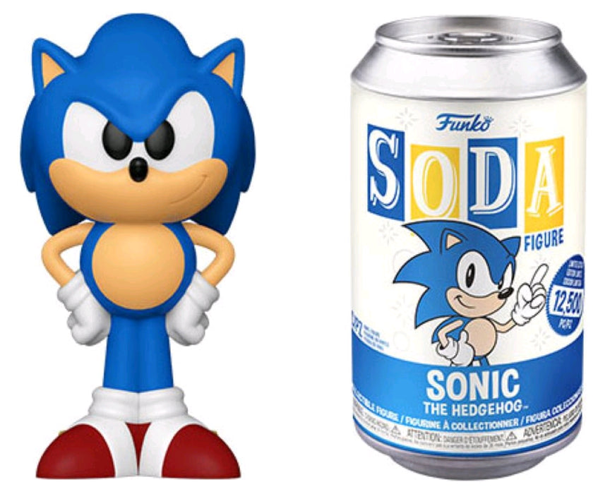 Sonic the Hedgehog - Sonic Vinyl Soda Figure (with chase)
