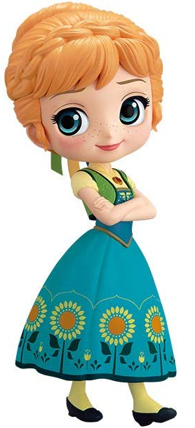 Q Posket - Anna Frozen Fever Design (A Normal Color Ver)