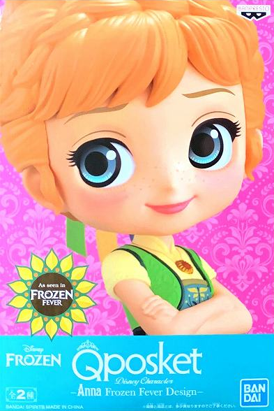 Q Posket - Anna - Frozen Fever Design (A Normal Color Ver)