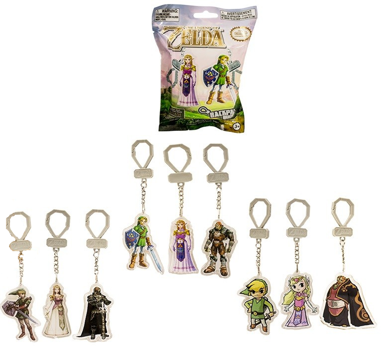The Legend of Zelda Keyrings 2D Laser Cut Blind Bags