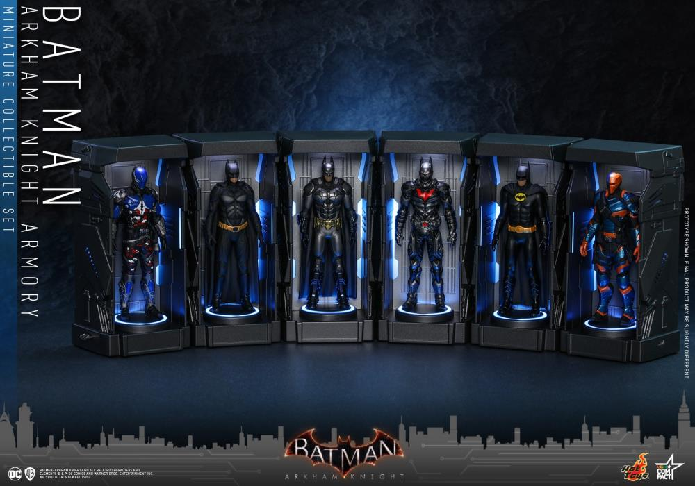 Batman: Arkham Knight - Armory Miniature Set