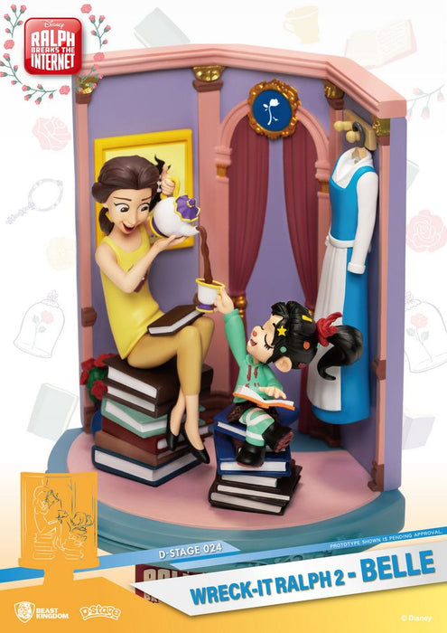 Wreck-It Ralph 2 - D Stage Disney - Belle Diorama Statue