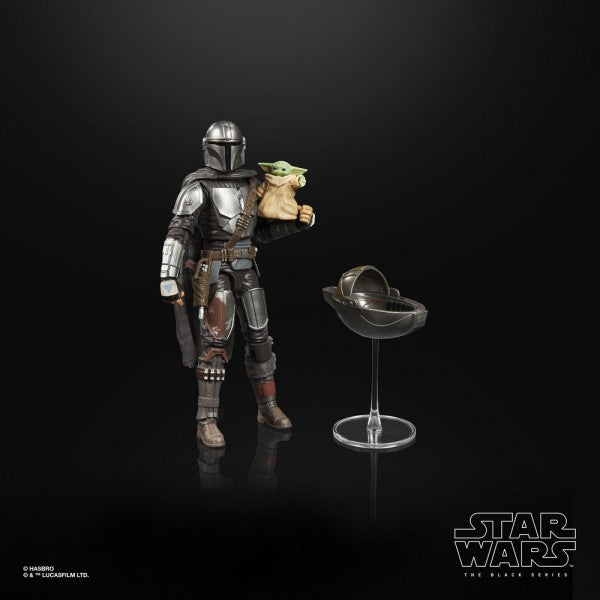 PRE-ORDER: Star Wars - Black Series: The Mandalorian Din Djarin & The Child Action Figure