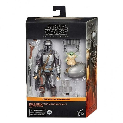 * RETURNING, EXPECTED MID-MARCH * Star Wars - Black Series: The Mandalorian Din Djarin & The Child Action Figure