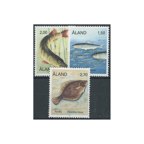 Aland 1990 Fishes, u/m SG41-43