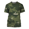 Fishing Camoufla 3D Shirt