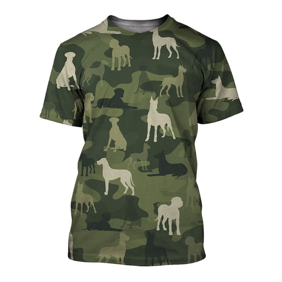 Great Dane Camoufla 3D Shirt