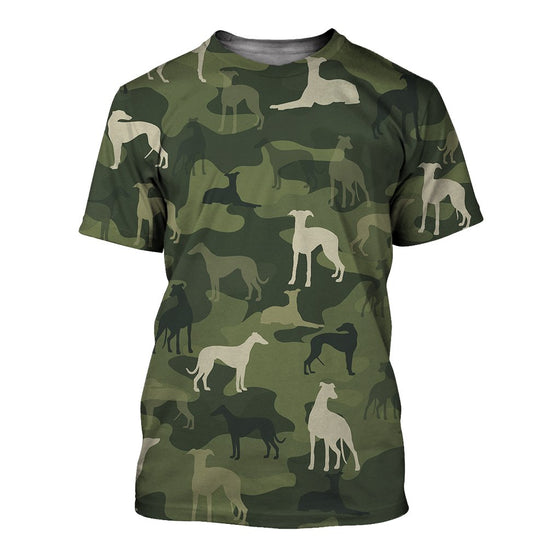 Greyhound Camoufla 3D Shirt