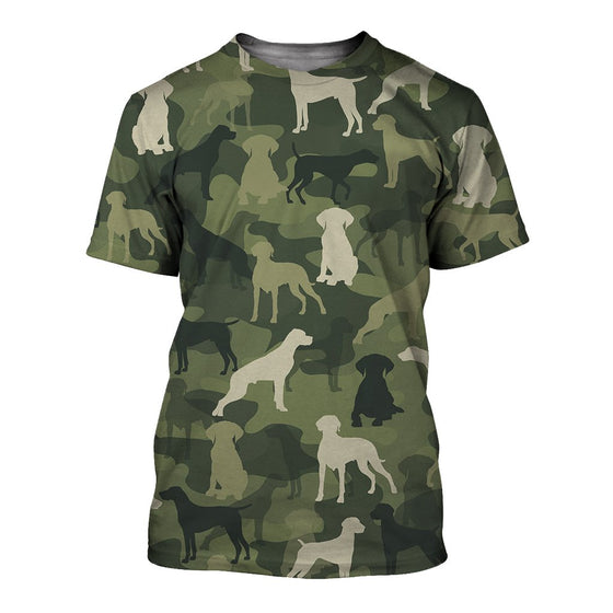 German Shorthaired Pointer Camoufla 3D Shirt