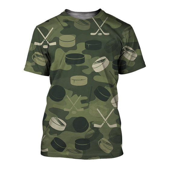 Hockey Camoufla 3D Shirt