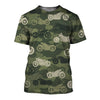Motorcycle Camoufla 3D Shirt