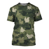 Squirrell Camoufla 3D Shirt