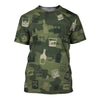 Whiskey Camoufla 3D Shirt