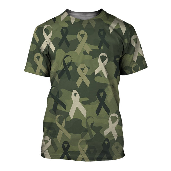 Breast Cancer Camoufla 3D Shirt
