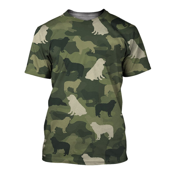 Great Pyrenees Camoufla 3D Shirt