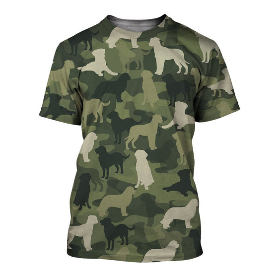 Greater Swiss Mountain Camoufla 3D Shirt