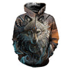Wolf Warrior 3D Shirt