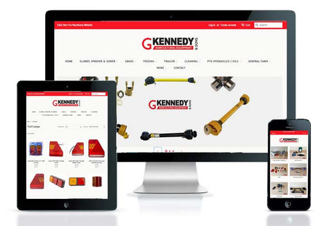 New Parts Department Website Launch | Gerard Kennedy & Sons Parts