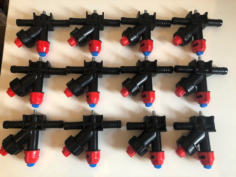 *** SPECIAL DEAL *** NEW TYPE JARMET NOZZLE PACK (10 T-NOZZLES 4 END NOZZLES)