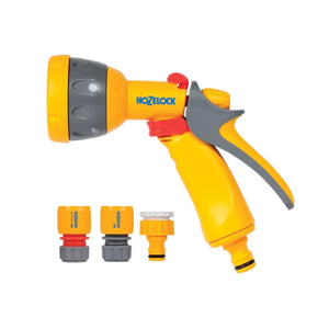 HOZELOCK MULTISPRAY GUN & FITTINGS SET